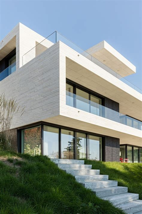 4 Zimmer Wohnung Mit Garten Dinslaken by Neubau Villa Z 252 Rich Gartenfassade Dietfurter Kalkstein