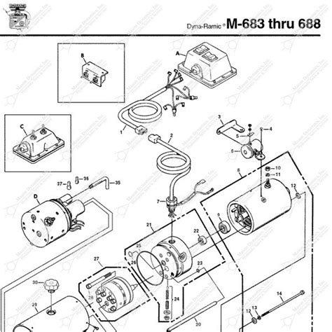 Monarch Wiring Diagram monarch hydraulics m 683 parts diagram from dynamics