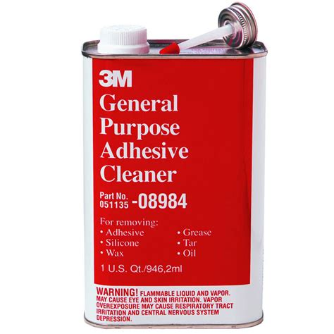 Three Generic Cleaners Same As by 3m 08984 General Purpose Adhesive Cleaner