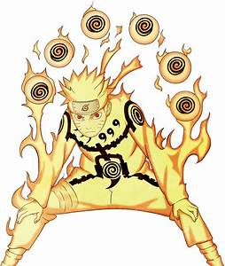 Naruto nine tails chakra mode by senju64 on DeviantArt