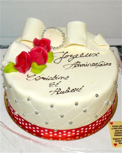 feter 1er anniversaire de mariage anniversaire24 gateau anniversaire mariage
