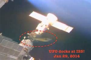 UFO SIGHTINGS DAILY: Aliens Dock Ship At ISS To Have ...