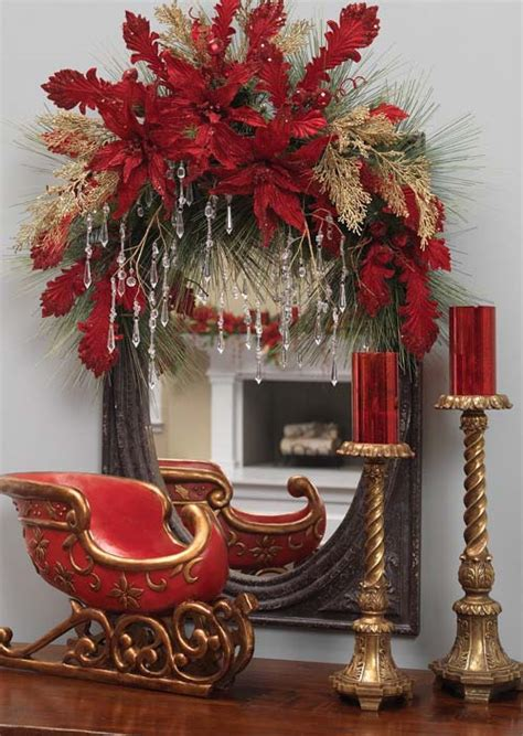 decorate your mirror for the holidays trendy tree blog