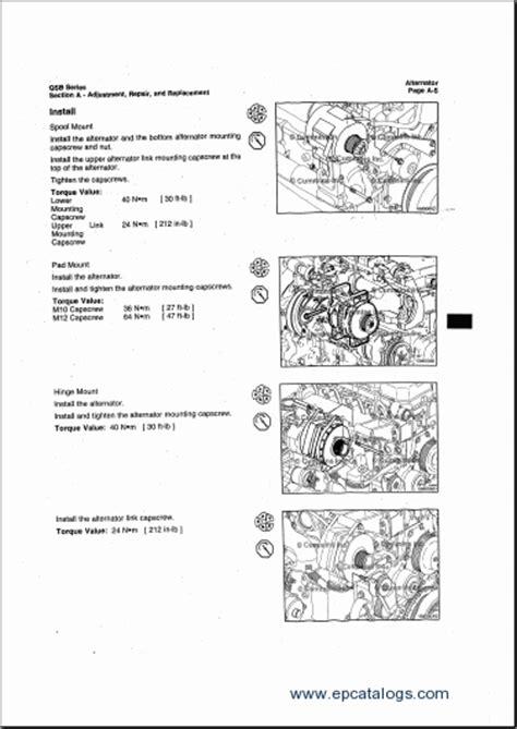 hyundai construction equipment engines service manuals