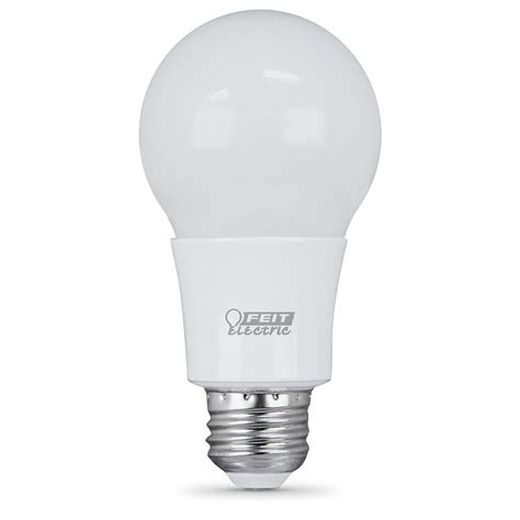 feit electric 60w equivalent soft white a19 dimmable led