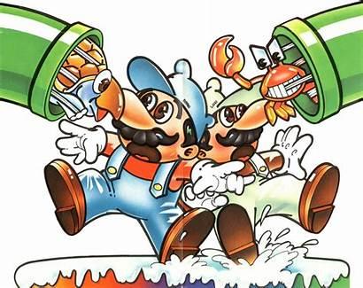 Mario Bros Artwork Arcade Luigi Atari 2600