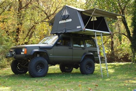 jeep grand cherokee roof top tent overland roof tent jeep cherokee xj pinterest