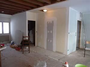 Enduit à La Chaux Sur Placo : enduits fins sur placo badigeons cie ~ Premium-room.com Idées de Décoration
