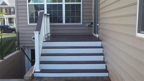 deck steps american exteriors masonry