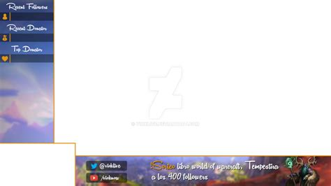 An Old Overlay, Cam + Game By Vioklive On Deviantart