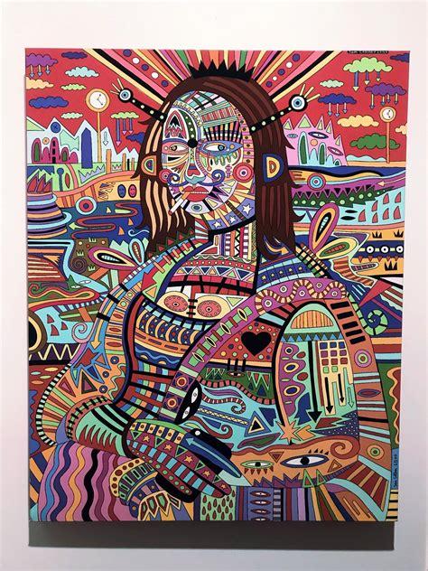 painting   called mona lisa takes  trip pics