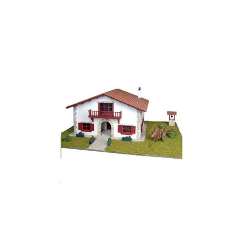 maquette maison en bois maquette a monter en bois maison biarritz francis miniatures