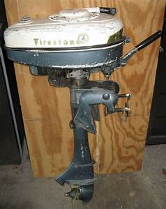 Vintage Firestone Outboard Boat Motor 2 Hp Local Pick Up