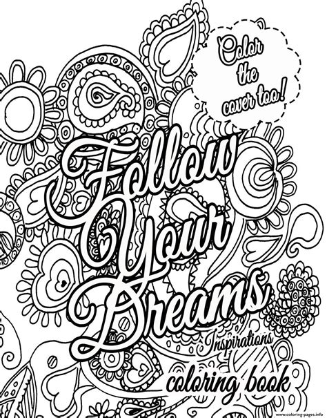 Coloring Quotes For Adults Printable by Quote About For Adults Coloring Pages Printable