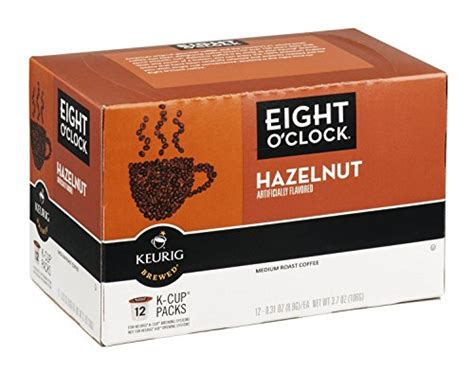 Eight o'clock is my favorite brand of all. Get Best Deal For Eight O'Clock Coffee -K cups 12ct - Hazelnut - (Pack of 3) - Hot Coffee ...