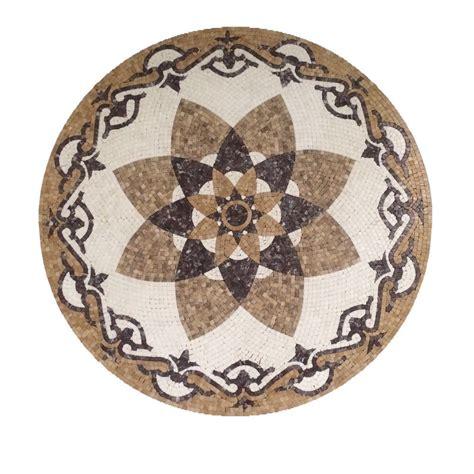 marble medallion marble stone mosaic medallion round floor wall art tile decorate medallion 36in ebay