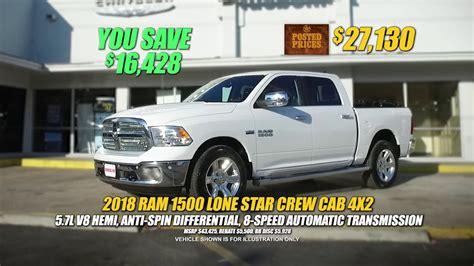 Blue Bonnet Dodge by Bluebonnet Chrysler Dodge Sales Event 2018 Ram 1500 Lone