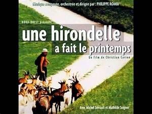 Une Hirondelle Fait Le Printemps : une hirondelle a fait le printemps 2001 music by philippe rombi youtube ~ Melissatoandfro.com Idées de Décoration