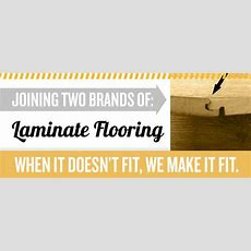 Joining Two Different Brands Of Laminate Flooring  Dadandcom