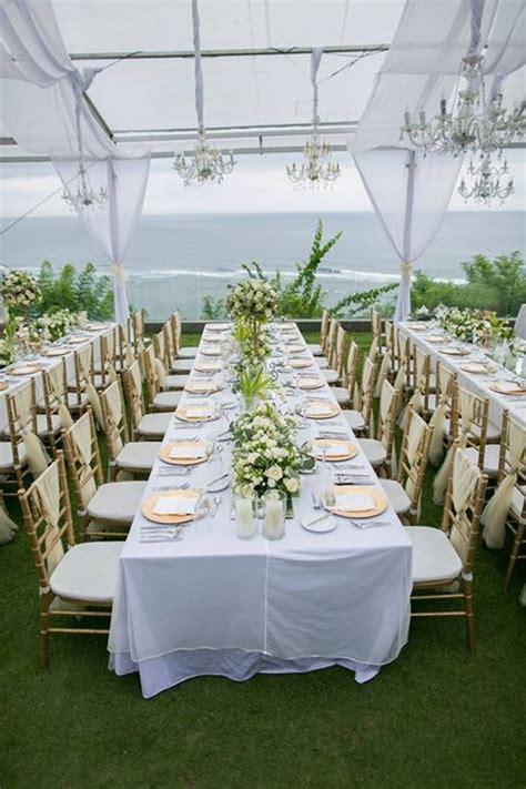 white green  gold elegant wedding  latitude villa