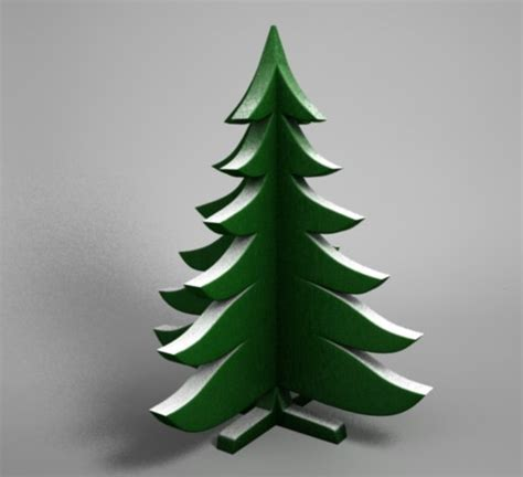 decorative wooden christmas trees 3d model decorative christmas tree