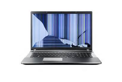 Laptop Screen Cracked Replacement Broken Repair Computer