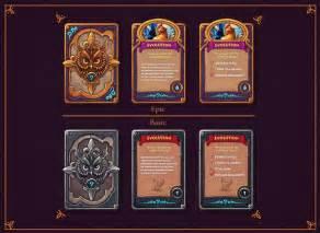 tcg cards game design images  pinterest card