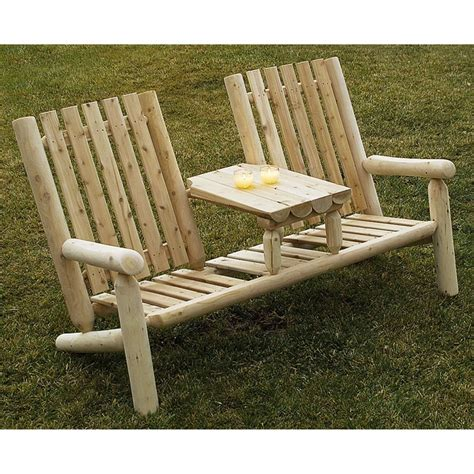 Cedar Patio Furniture by Constructing Log Furniture Outdoor Furniture On Rustic
