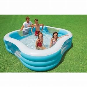 Piscine Gonflable Avec Pompe : piscine gonflable intex pas cher ~ Dailycaller-alerts.com Idées de Décoration