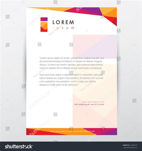 Trendy Multicolored Letterhead Design Template Business. Sample Excuse Letter Absent In School. Cold Cover Letter Sample Pdf. Cover Letter Sample Of Resume. Cover Letter Template Marketing Manager. Resume Building For Middle School. Cover Letter For Job How To Address. Cover Letter To Open Position. Cover Letter For Administrative Assistant Ii
