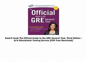 Gre Official Guide 3rd Edition Pdf Download Free