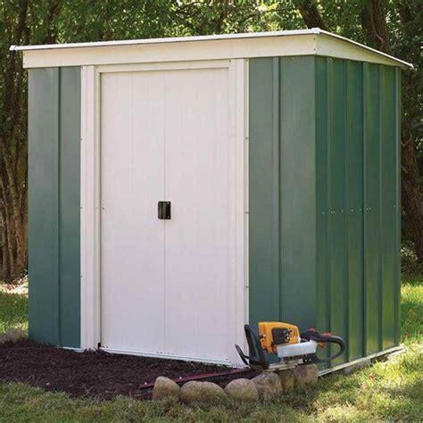 pent metal shed shedswarehouse rowlinson metal sheds 6ft x 4ft