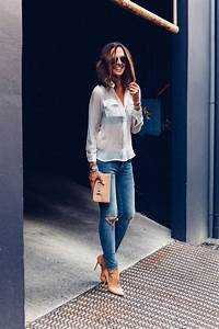 What to Wear with Distressed Denim u2013 Glam Radar
