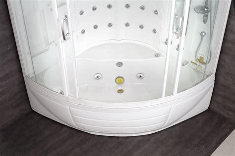 Whirlpool Shower Bath by Aston Corner Steam Shower With Whirlpool Bathtub Zaa216 56
