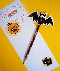 Free Printable Halloween Pencil Topper  U0026 Stationery