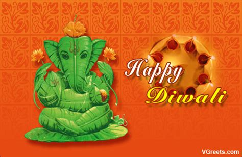 diwali ganesh aarti  virtual aarti ecards greeting