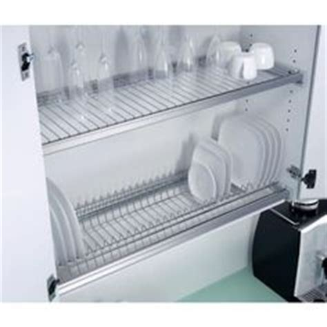 smart kitchen space saver dish drying closet