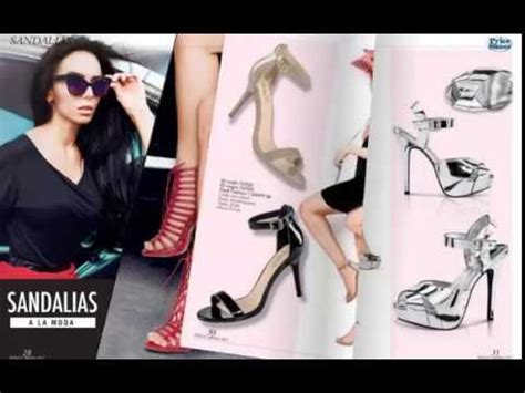 catalogo de ropa y zapatos price shoes vanguardia 2017 moda