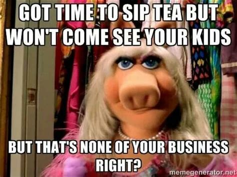 Ms Piggy Meme - miss piggy and kermit meme quotes pinterest