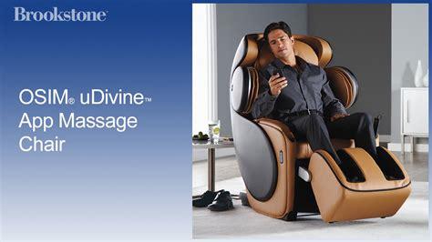 osim udivine app chair at brookstone