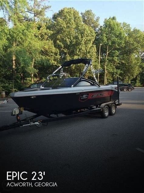 Epic Boats For Sale Georgia by For Sale Used 2012 Epic 23v 10th Anniversary Edition In