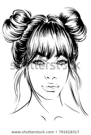 messy bun stock images royalty  images vectors