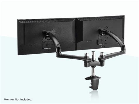 Desk Mount Monitor Arm 32 by Rosewill 174 Rms Ddm03bl Dual Arm 13 32 Vesa Monitor Desk