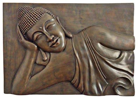 Buddha Outdoor Wall Art   Seattle Outdoor Art