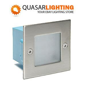recessed square indoor outdoor wall stairs led light l
