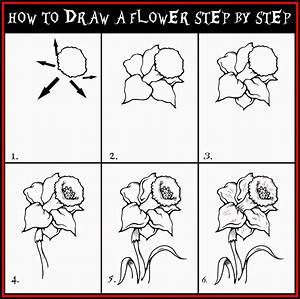 How to draw a flower step by step - Learn To Draw And Paint