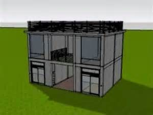 2 story floor plans with garage 3d animated construction of 2 storey commercial building