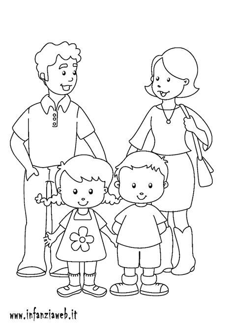 risultati immagini  disegni famiglia da colorare