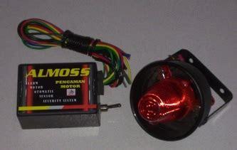 menambahkan sensor sentuh rahasia sebagai pengaman motor