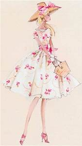 Barbie, Sketches and Dress illustration on Pinterest